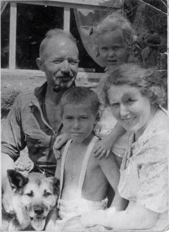 The Wittmer family on Floreana