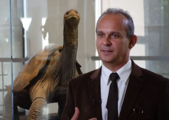 Arturo Izurieta, former Director of the Galápagos National Park (2014 photo)