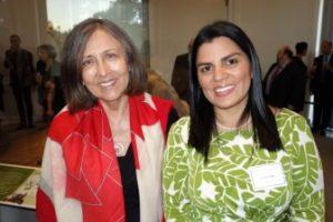 Lorena Tapia (r), Ecuadorian Minister Of The Environment With Cecilia Alvear Of Galápagos Digital