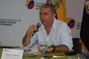 Biólogo Eliecer Cruz, Presidente Del Consejo De Gobierno De Galápagos