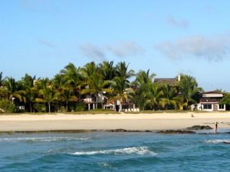 Beach at Puerto Villamil, Isabela Island
