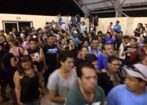 Protesters Occupy Terminal Building In San Cristóbal, Galapagos June 8