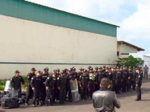 Police Officers From The Ecuadorian Mainland Arrive In Galápagos.